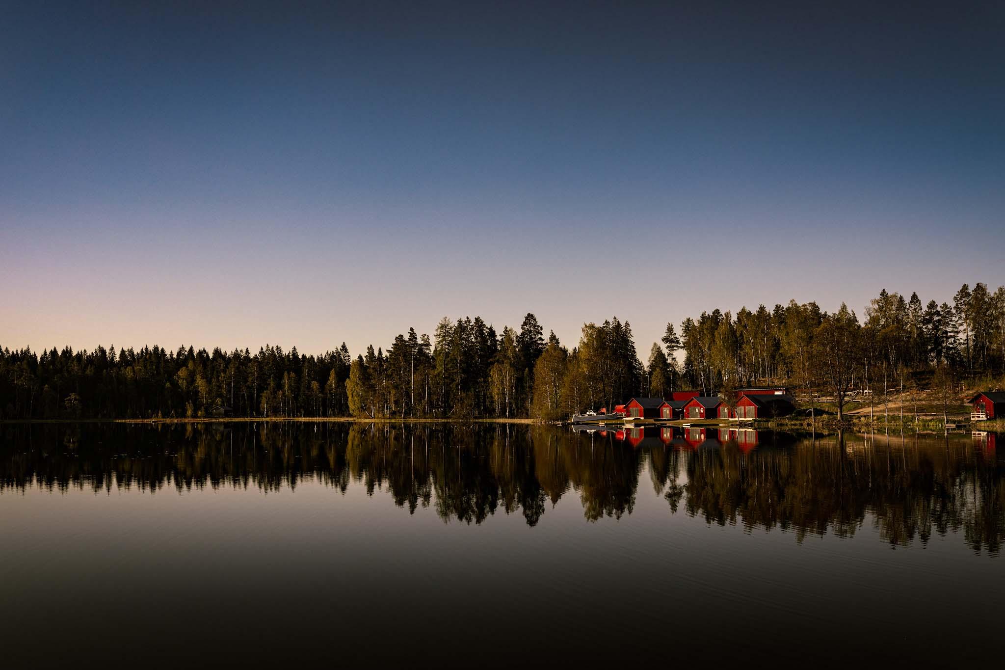 sjö vid högbo bruk