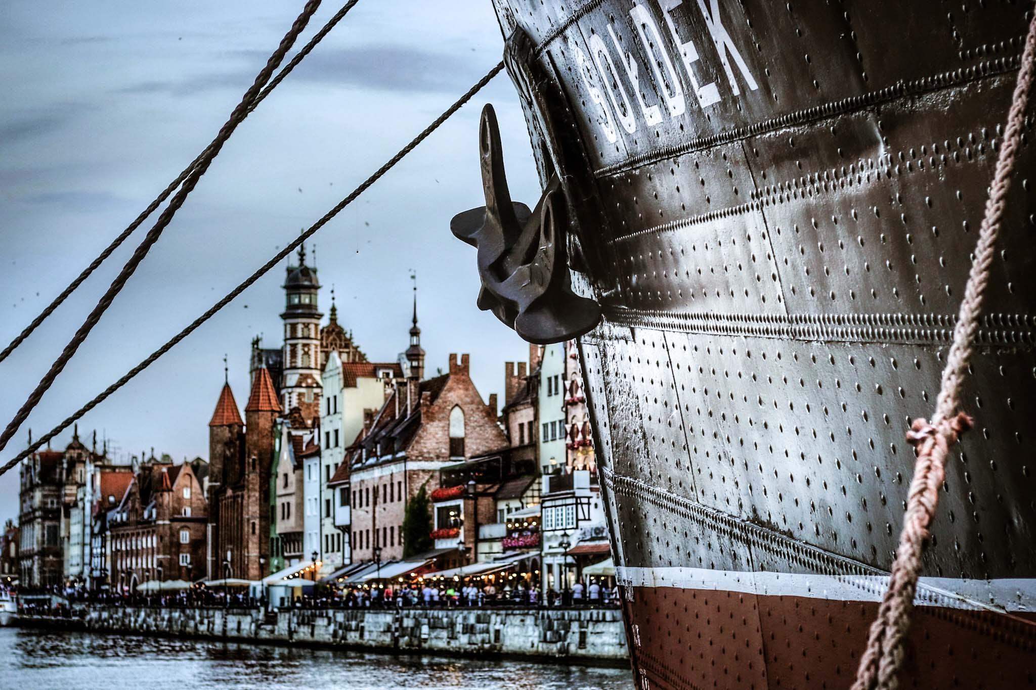 fartyg i gdansk