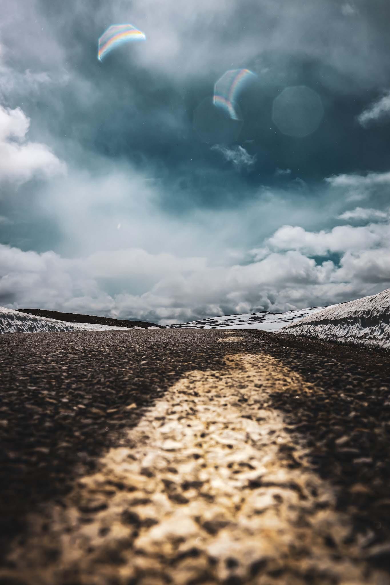 vildmarksvägen på vintern