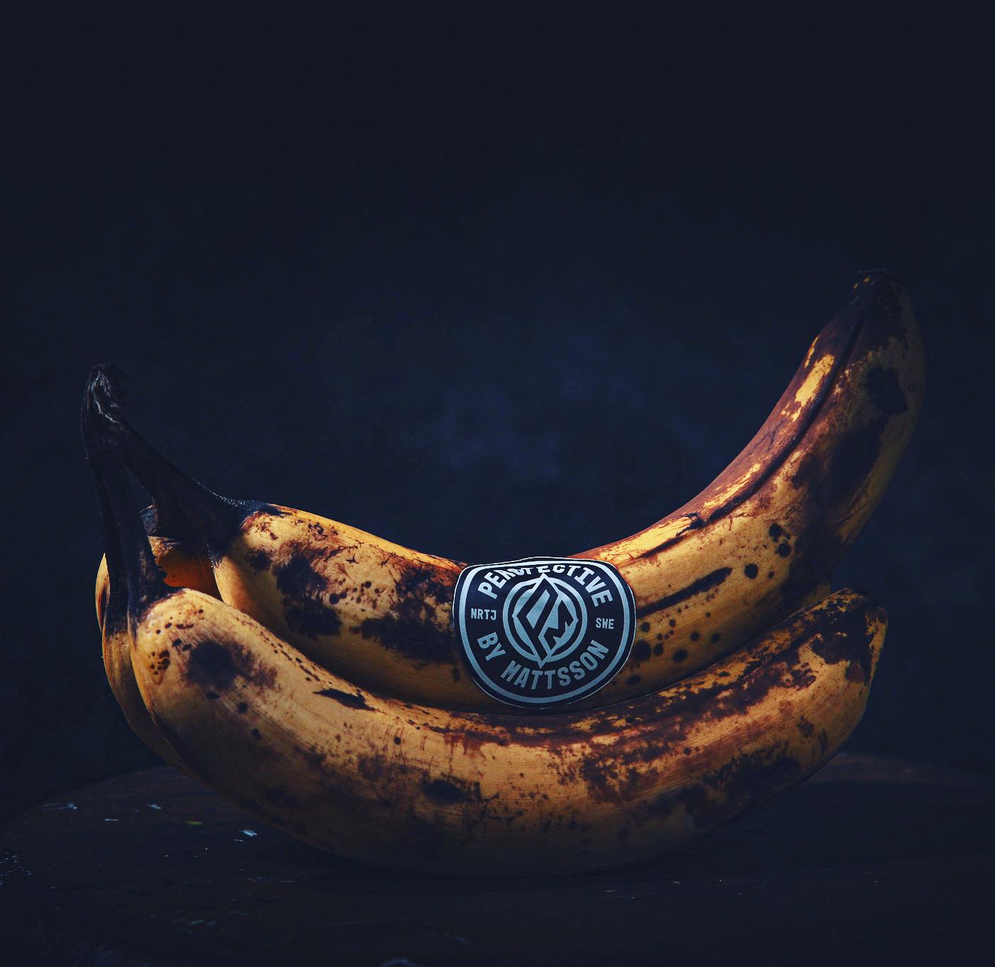 mogna bananer med perspective by Mattsson logga