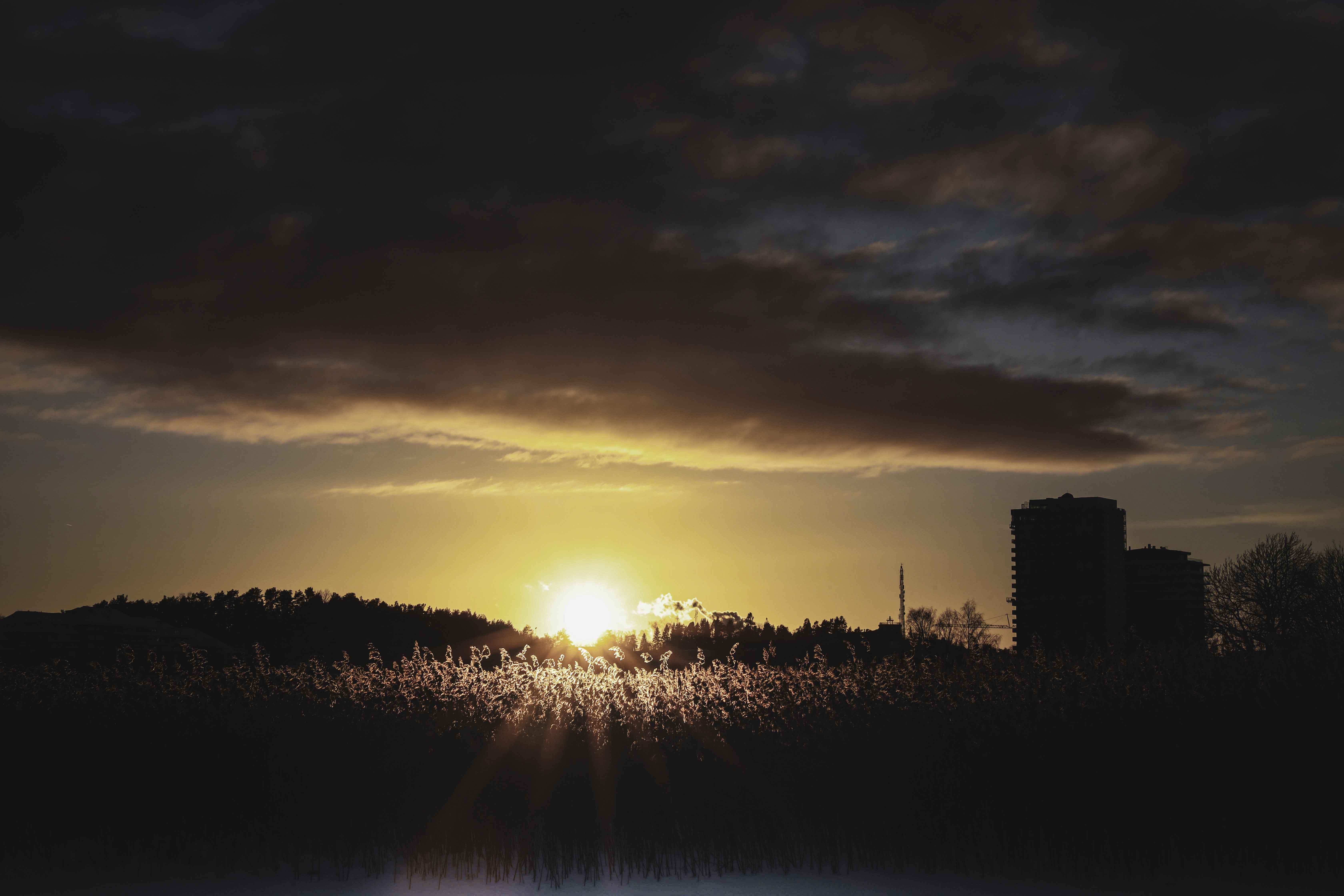 Solnedgång Norrtäljeviken