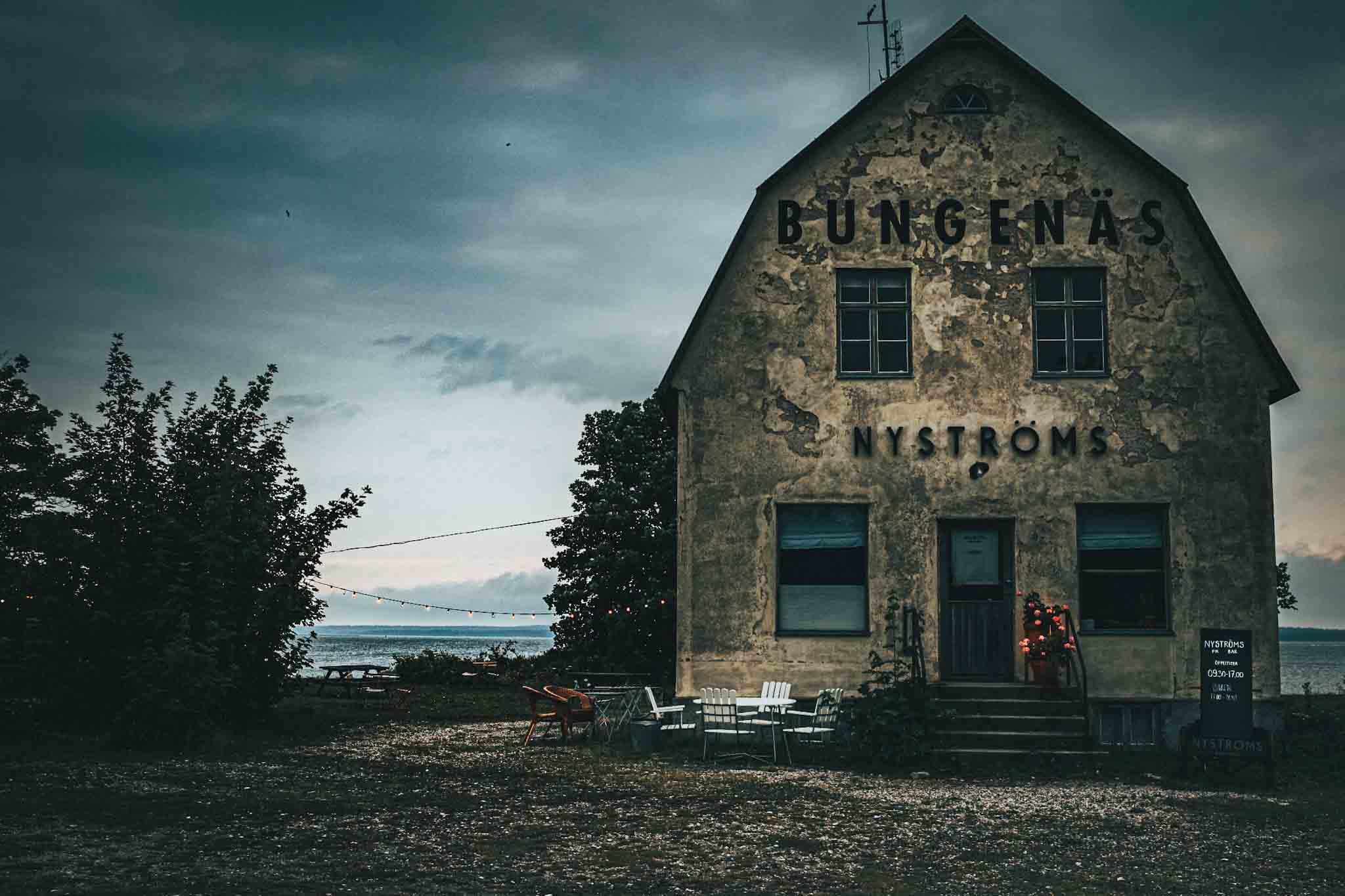 Nyströms bungenäs gotland