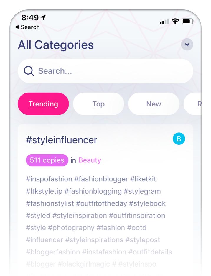 Hashtag Expert Algorithm