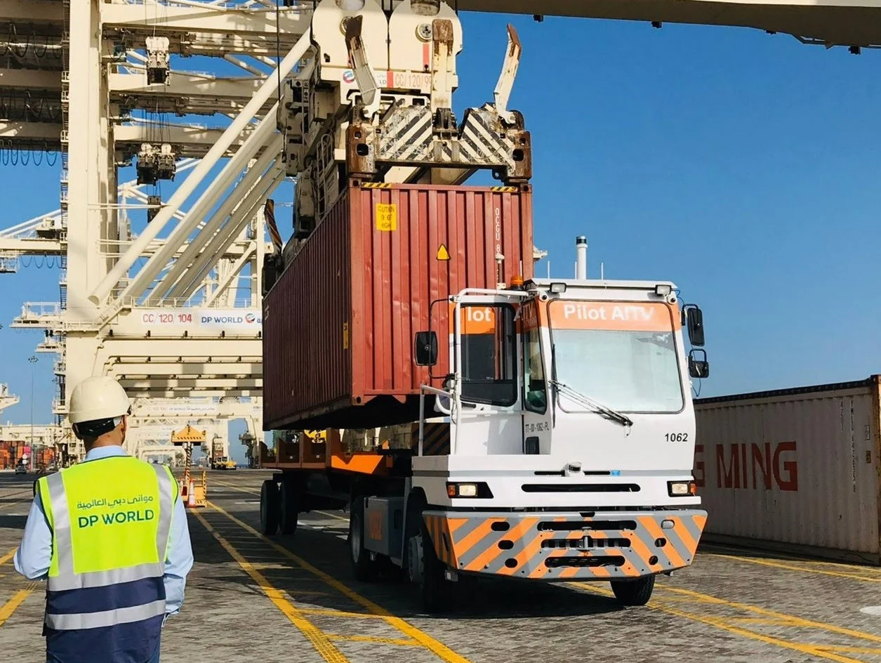 DG World Port Automation with LiDAR, Velodyne VLP-32 and Outsight