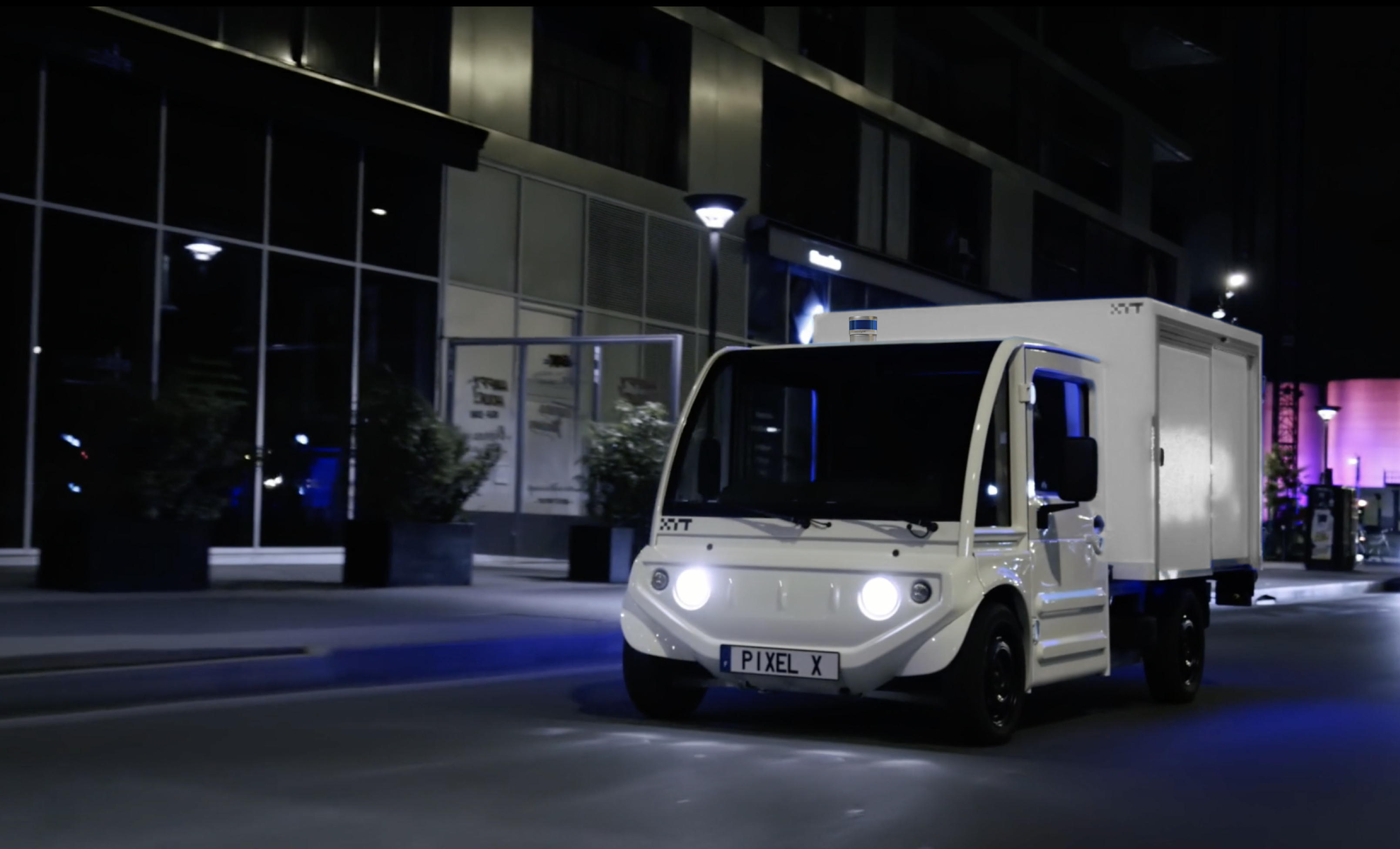 XYT Vehicle with LiDAR
