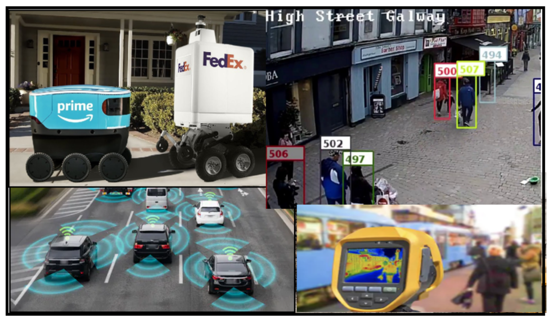 The Augmented LiDAR Box can be used in many applications, from Mobile Robots to Infrastructure-based solutions.