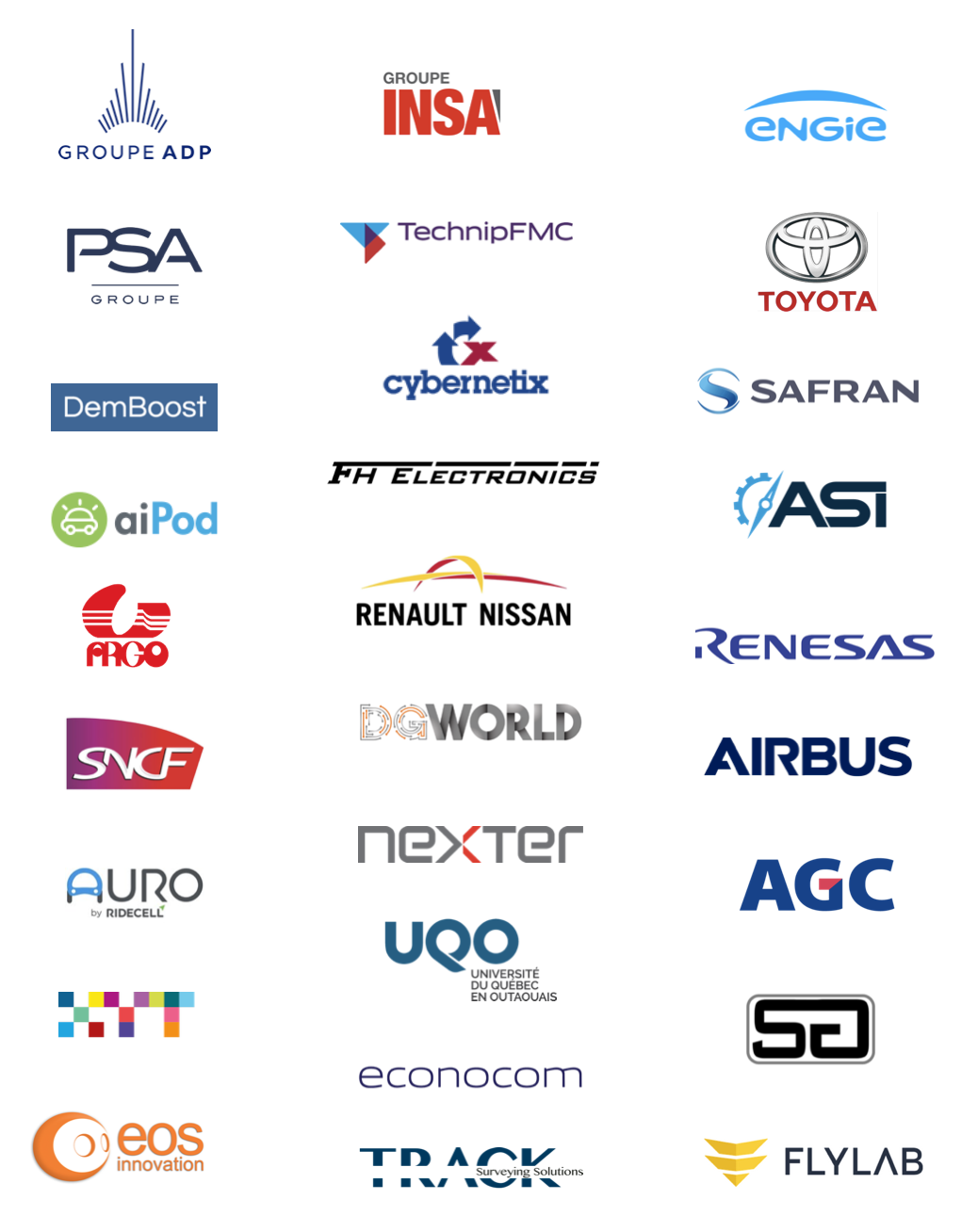 Outsight  - LiDAR - Customers and Partners