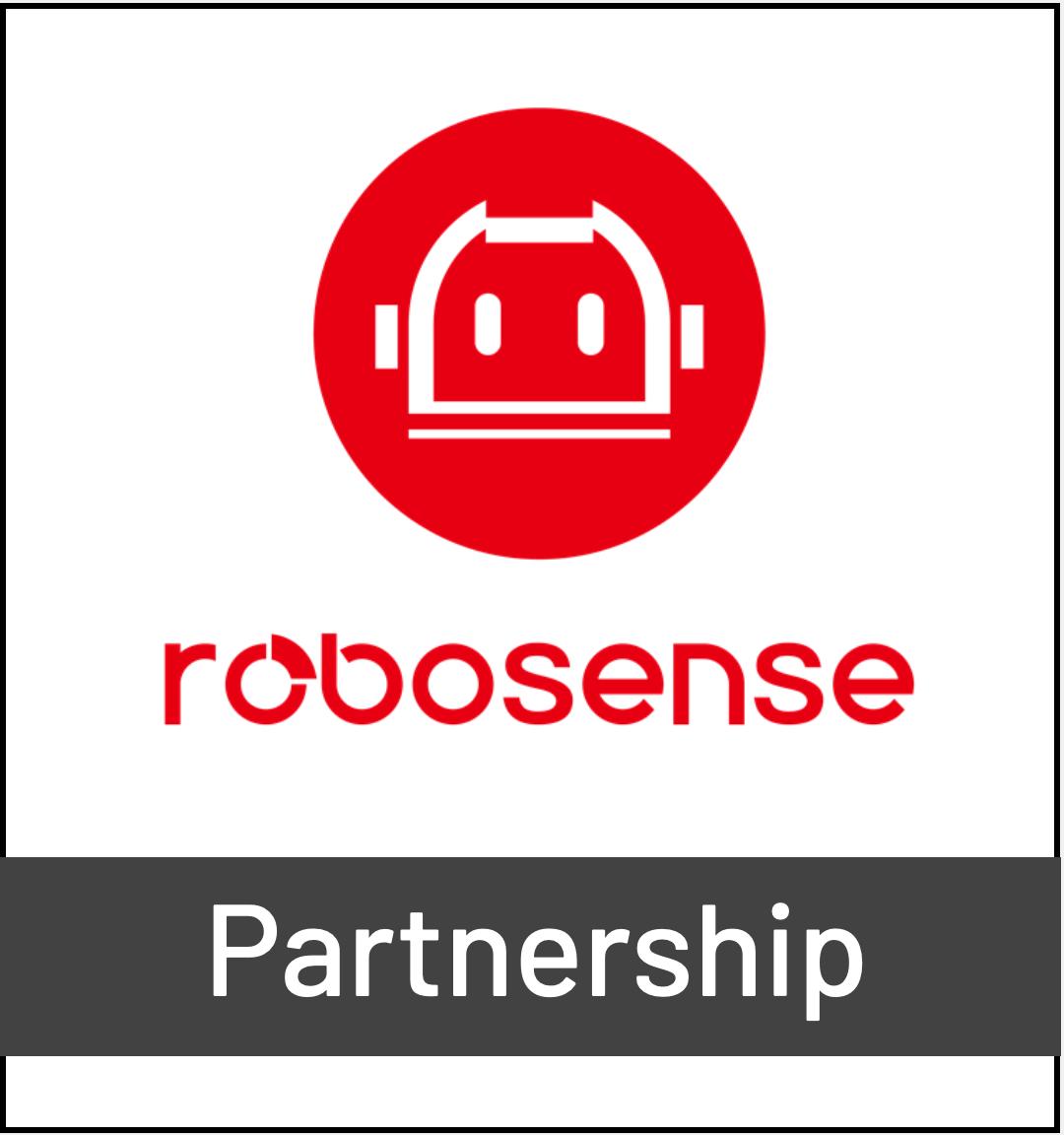 Robosense LiDAR Logo - Partnership with Outsight