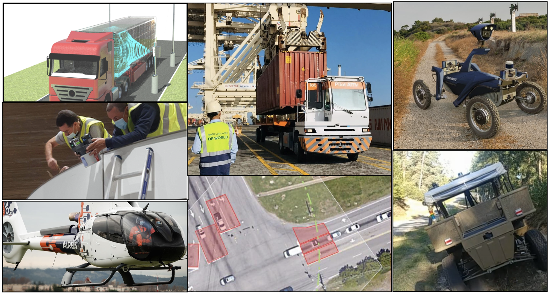 Overview applications of LiDAR with Outsight