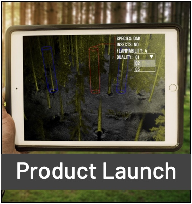 Outsight's Forestry Mapping Software Solution on an iPad