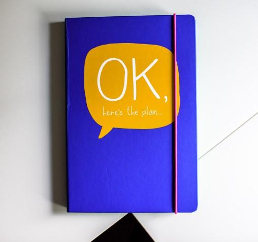A note book