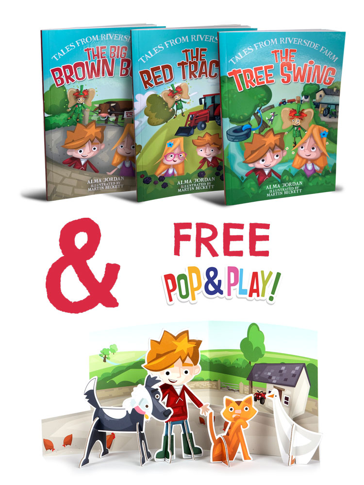 Story Book Set + FREE Pop & Play