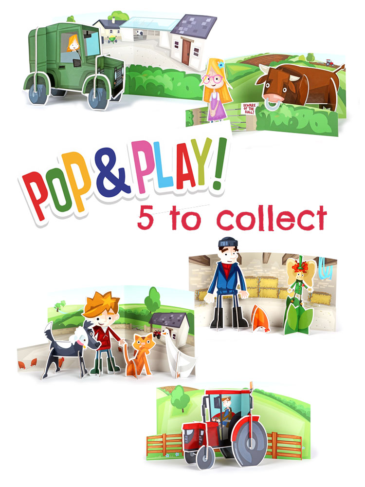 Pop & Play (5 to collect!)