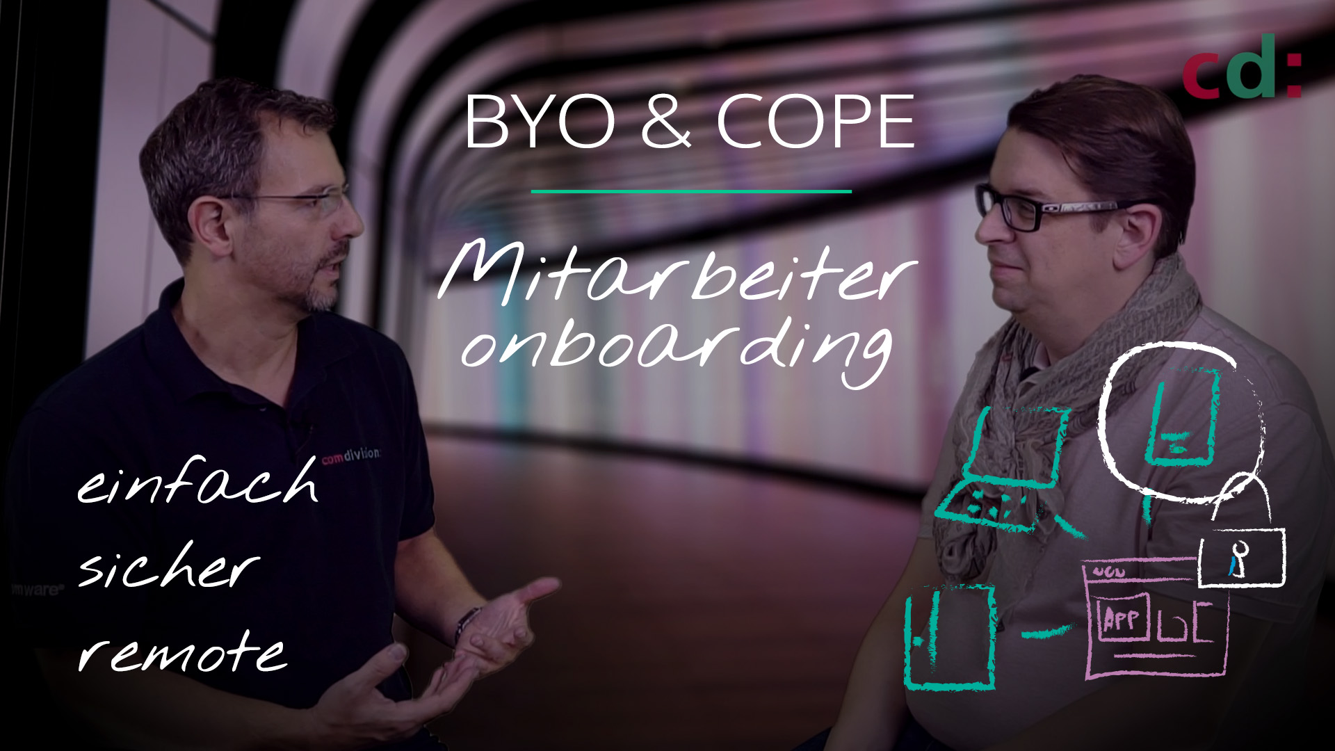 Mitarbeiter Onboarding mit Workspace ONE – BYOD oder COPE