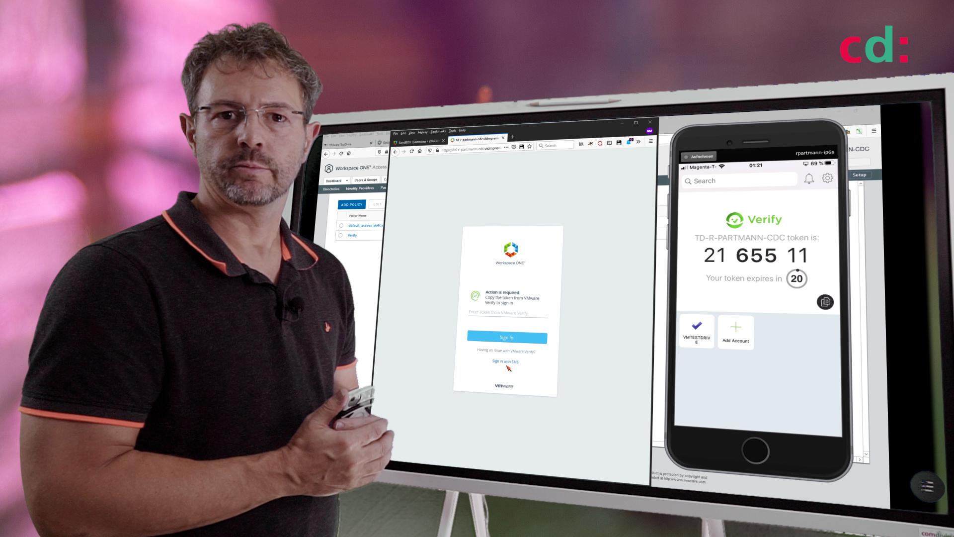 Workspace ONE Demo: Der Intelligent Hub