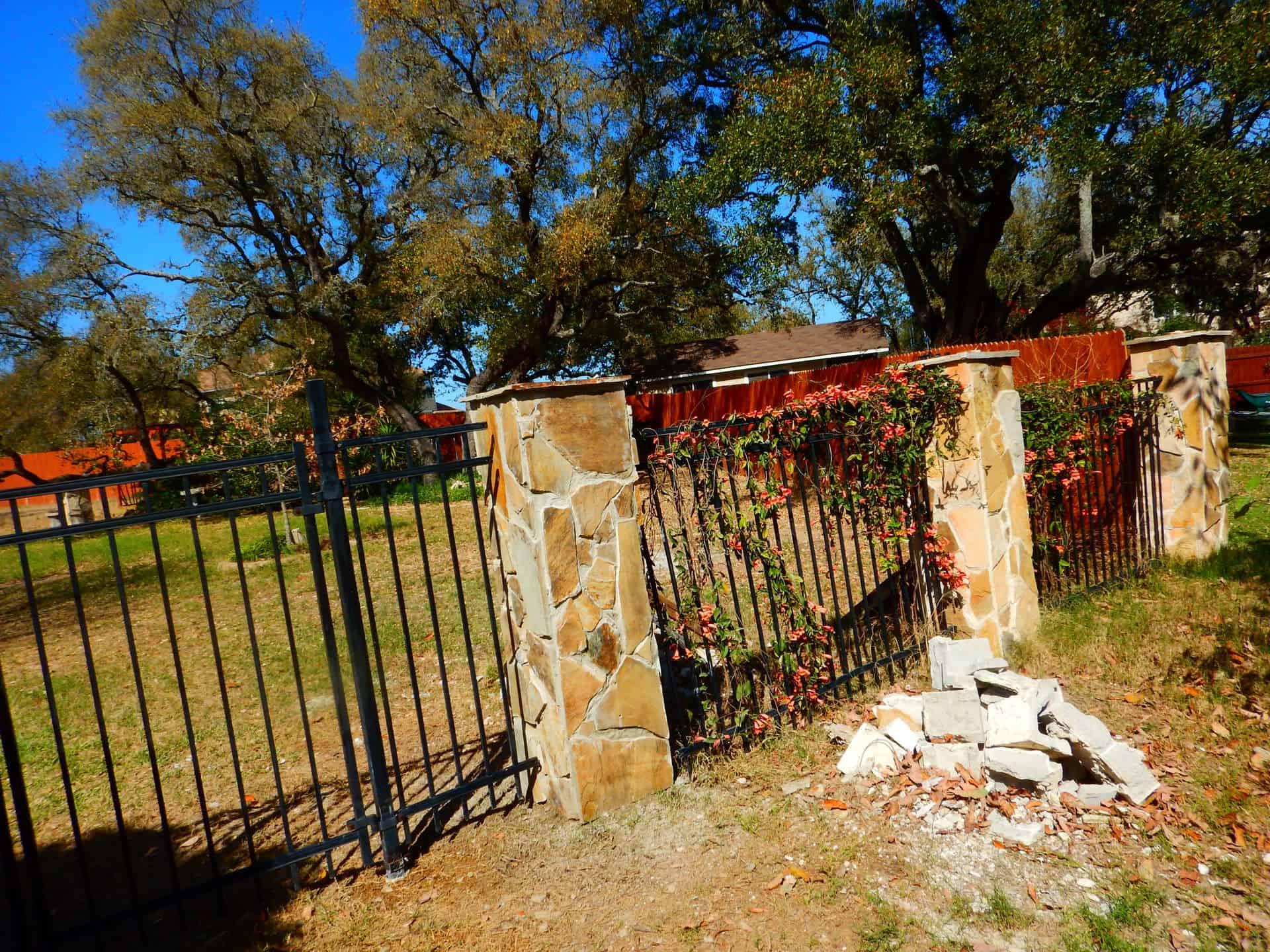 Allen Flagstone Pillar