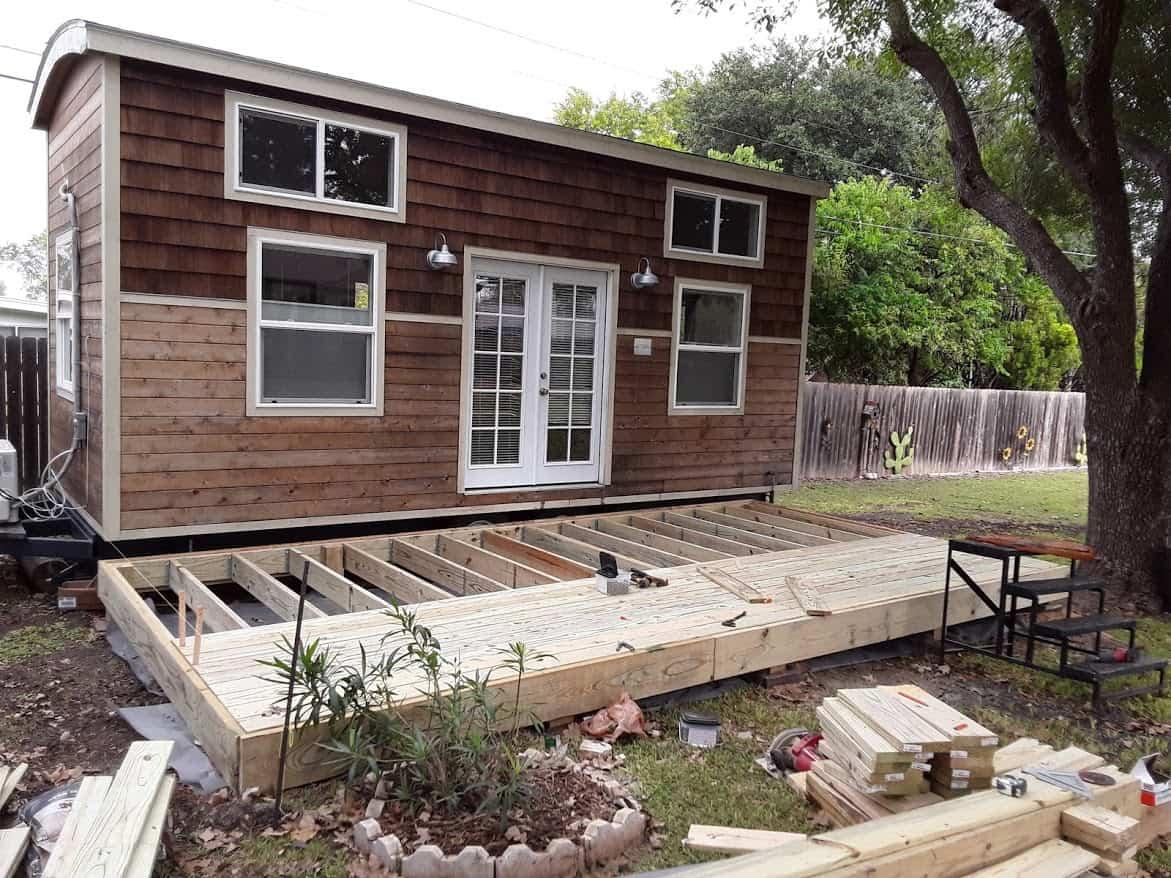 Tiny Home Deck