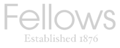 Fellow's company logo in black and white