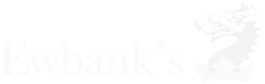 Ewbank's company logo in black and white
