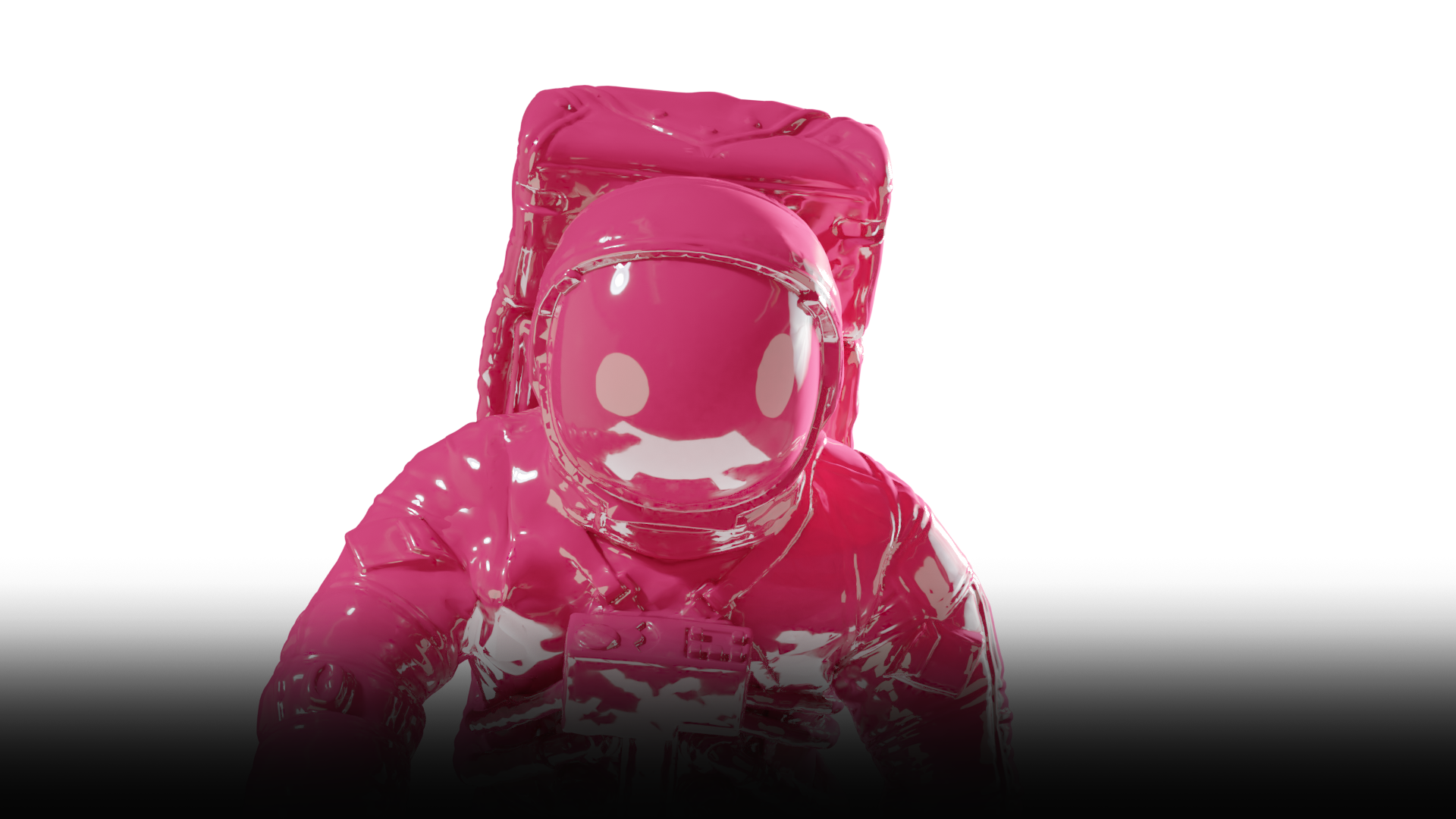 Spaceman made in Webflow