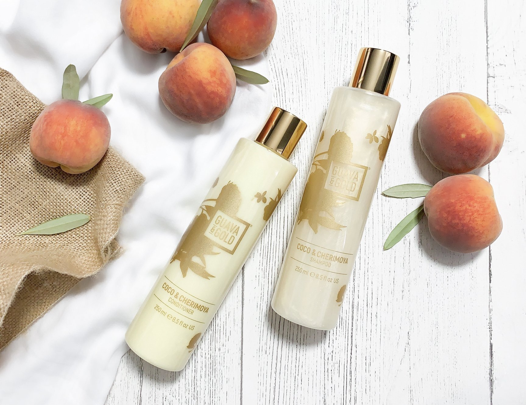 Guava & Gold product images on Shopify website