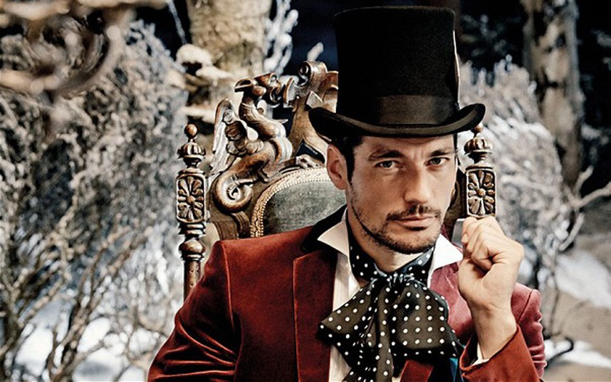 DavidGandy top hat