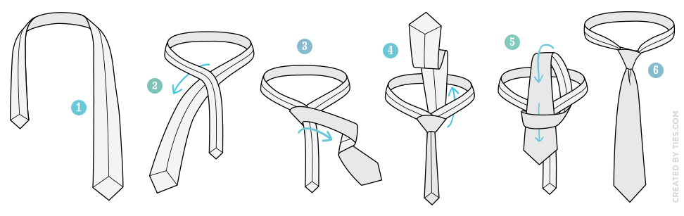 how_to_tie_the_simple_knot_tying_instructions