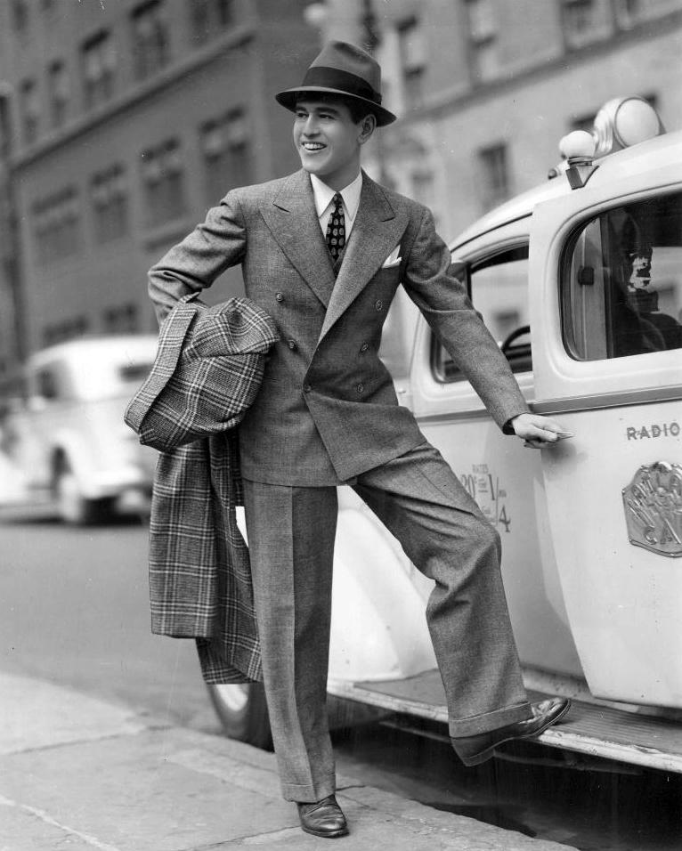 Men 1940s hat