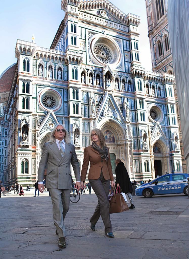 Hugo and Sonya Duomo - Cifonelli Bespoke