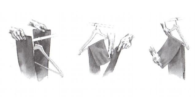 savile row fold
