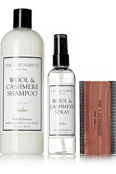 wool and cashmere spray