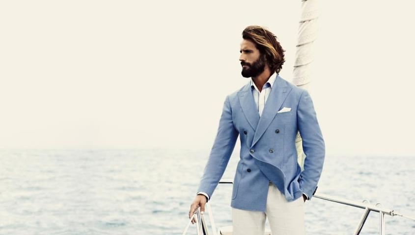 Signals of a Handmade Suit : Zero Collar Gap