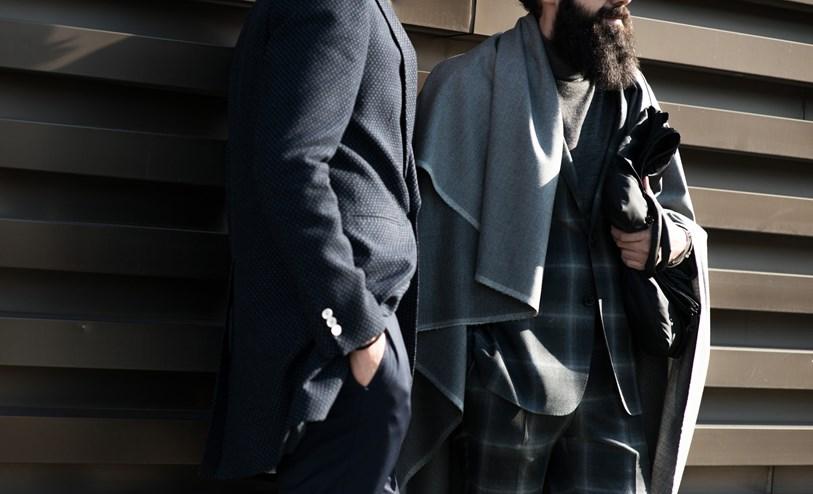 blanket scarf Pitti-Street-Style-Day3-10-GQ_16Jan15_robertspangle_b_813x494