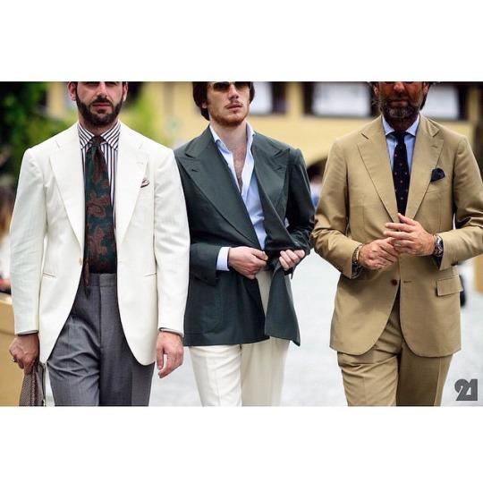 looser jackets