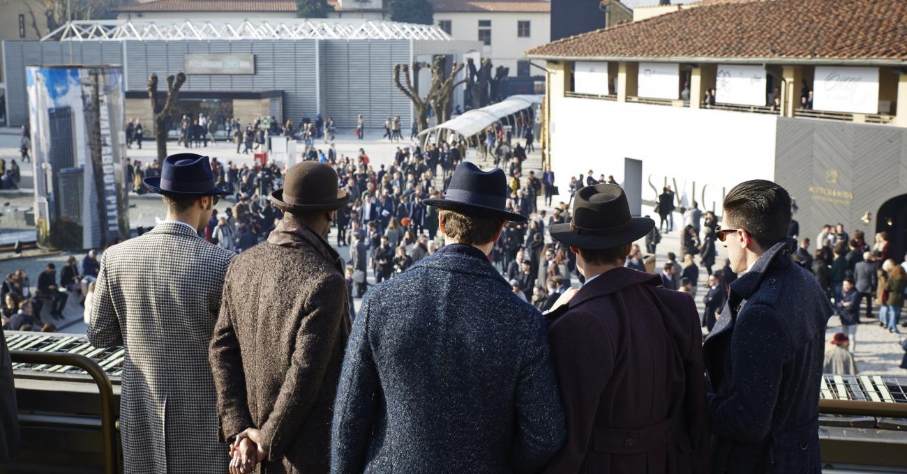 Pitti Sea of Hats