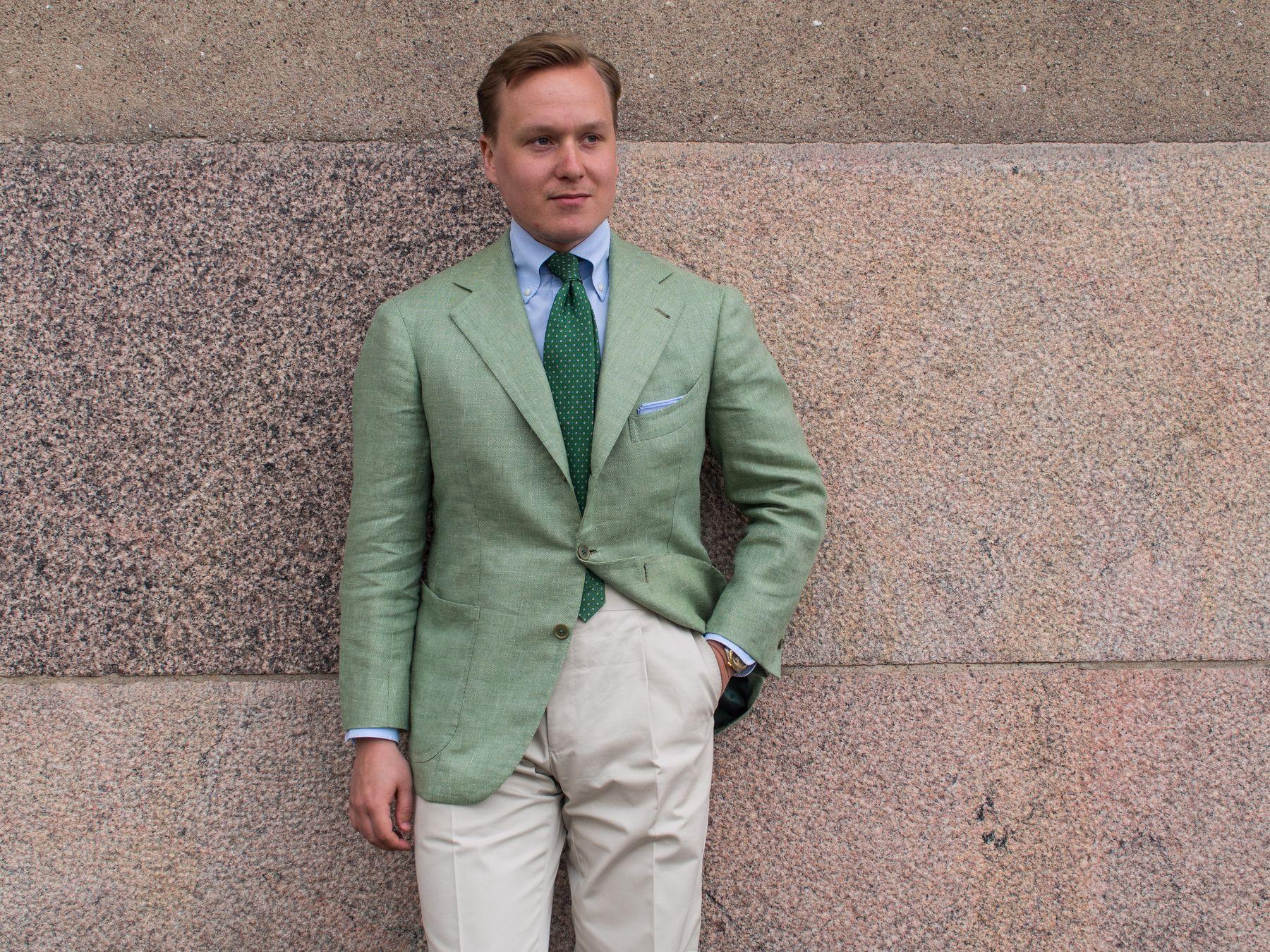 A Certain Summer Jacket in Naples : Sartoria Peluso