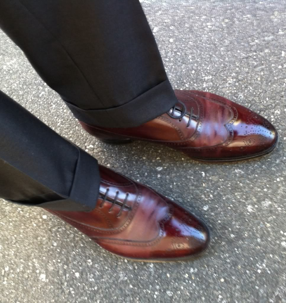 A Second Look at Trouser Turnups (Cuffs)