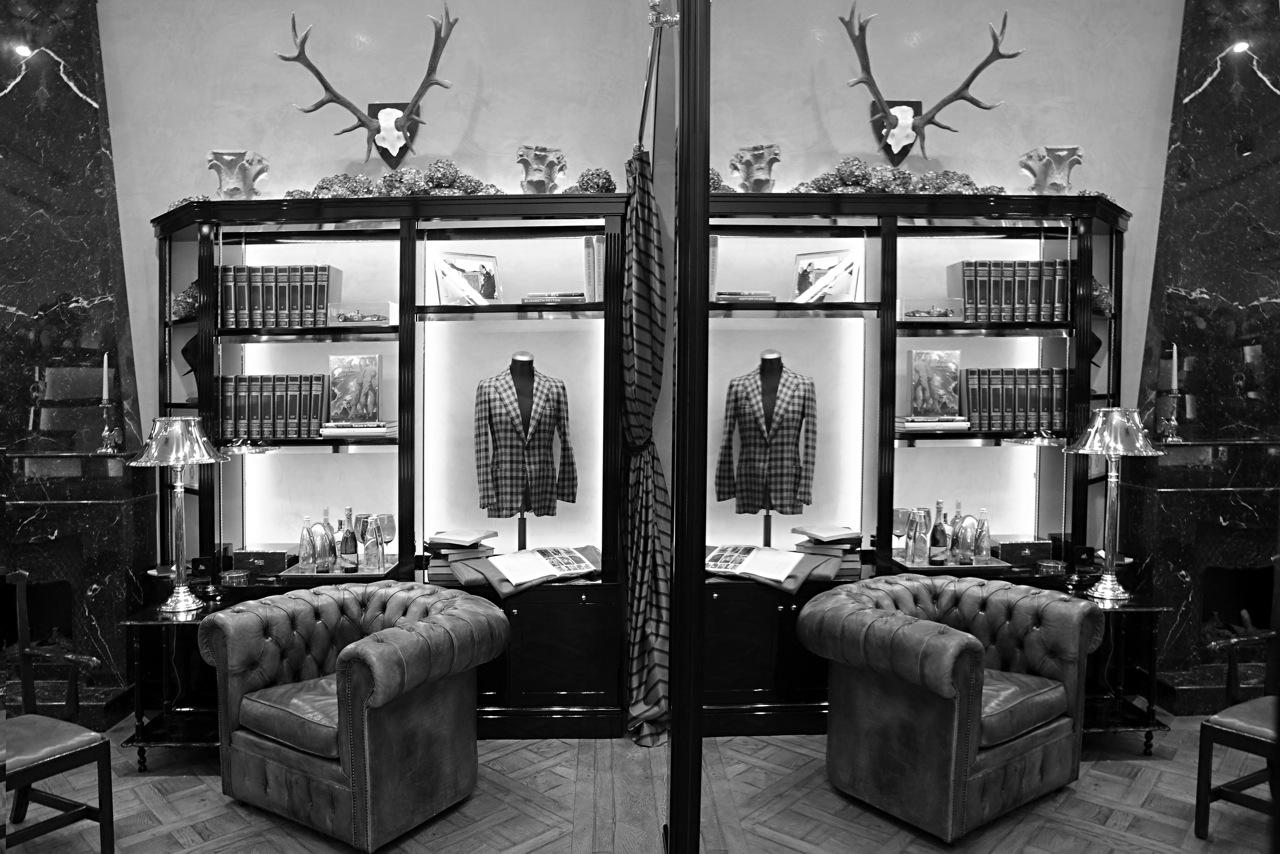 Salon Bespoke Rubinacci