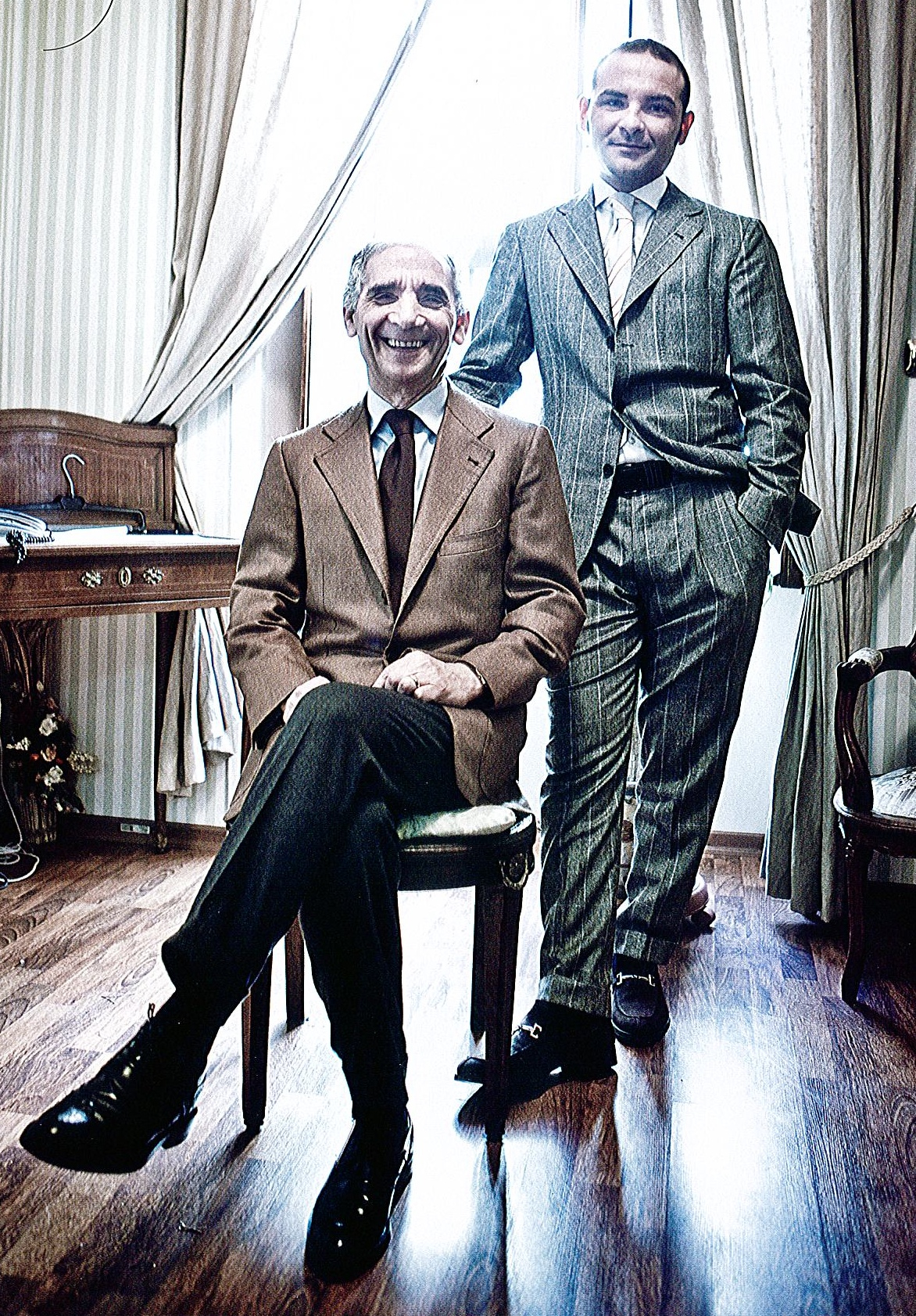Ambrosi : les plus beaux pantalons du monde ?