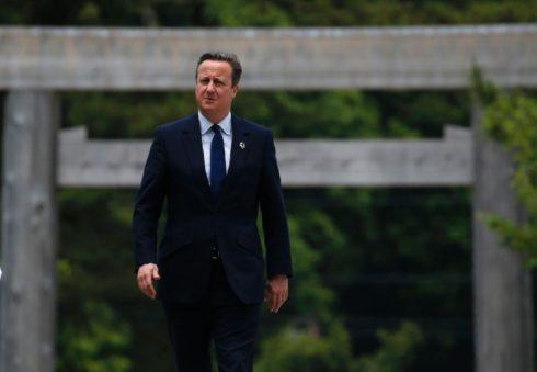 David Cameron Richard James Suit