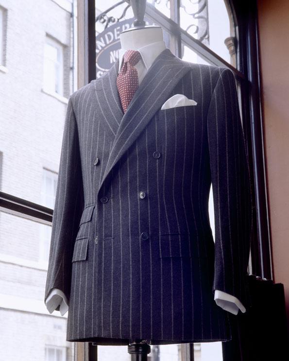 Article du Figaro sur le retour du costume croisé