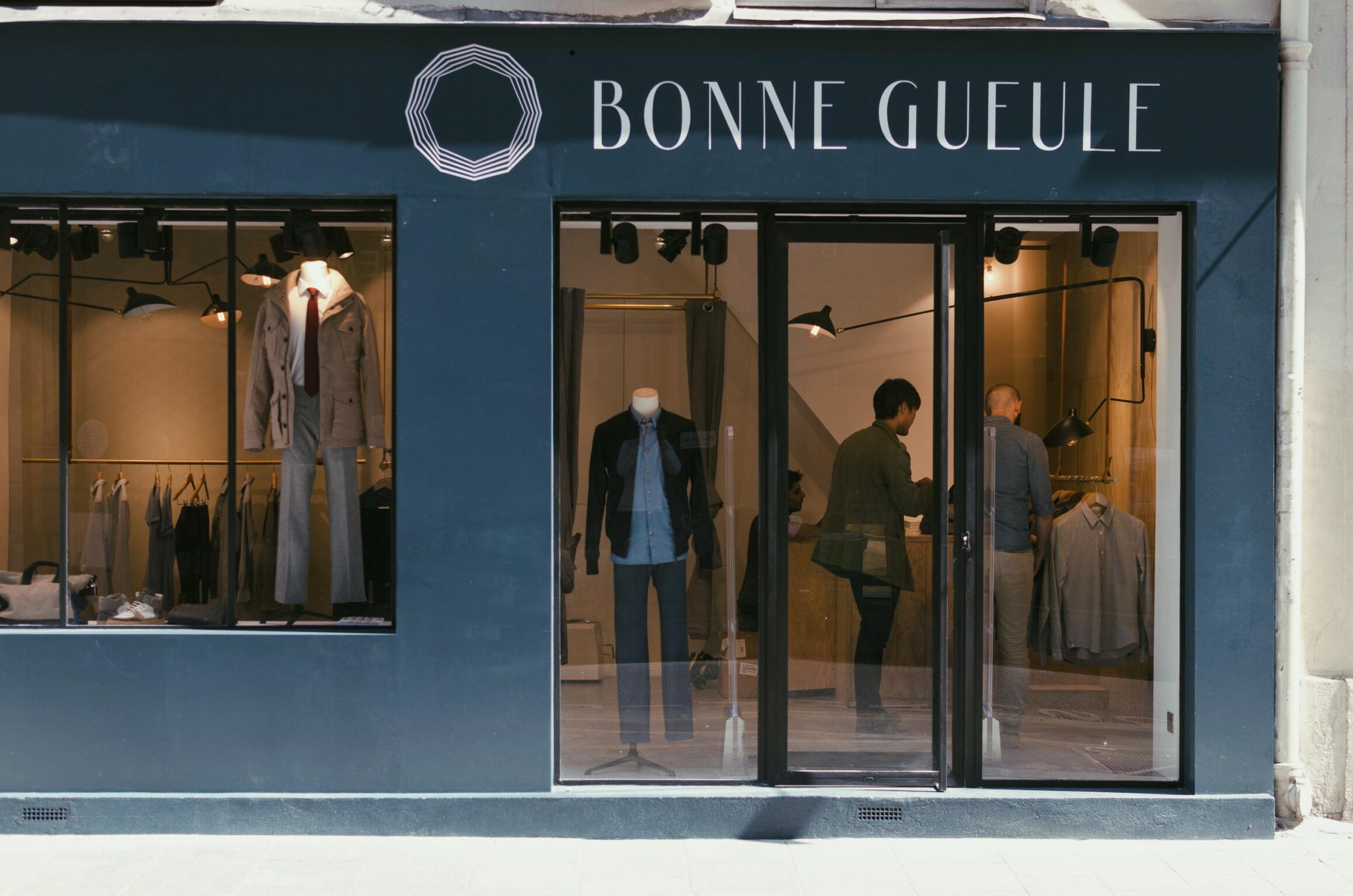 Bonne Gueule ouvre sa première boutique à Paris
