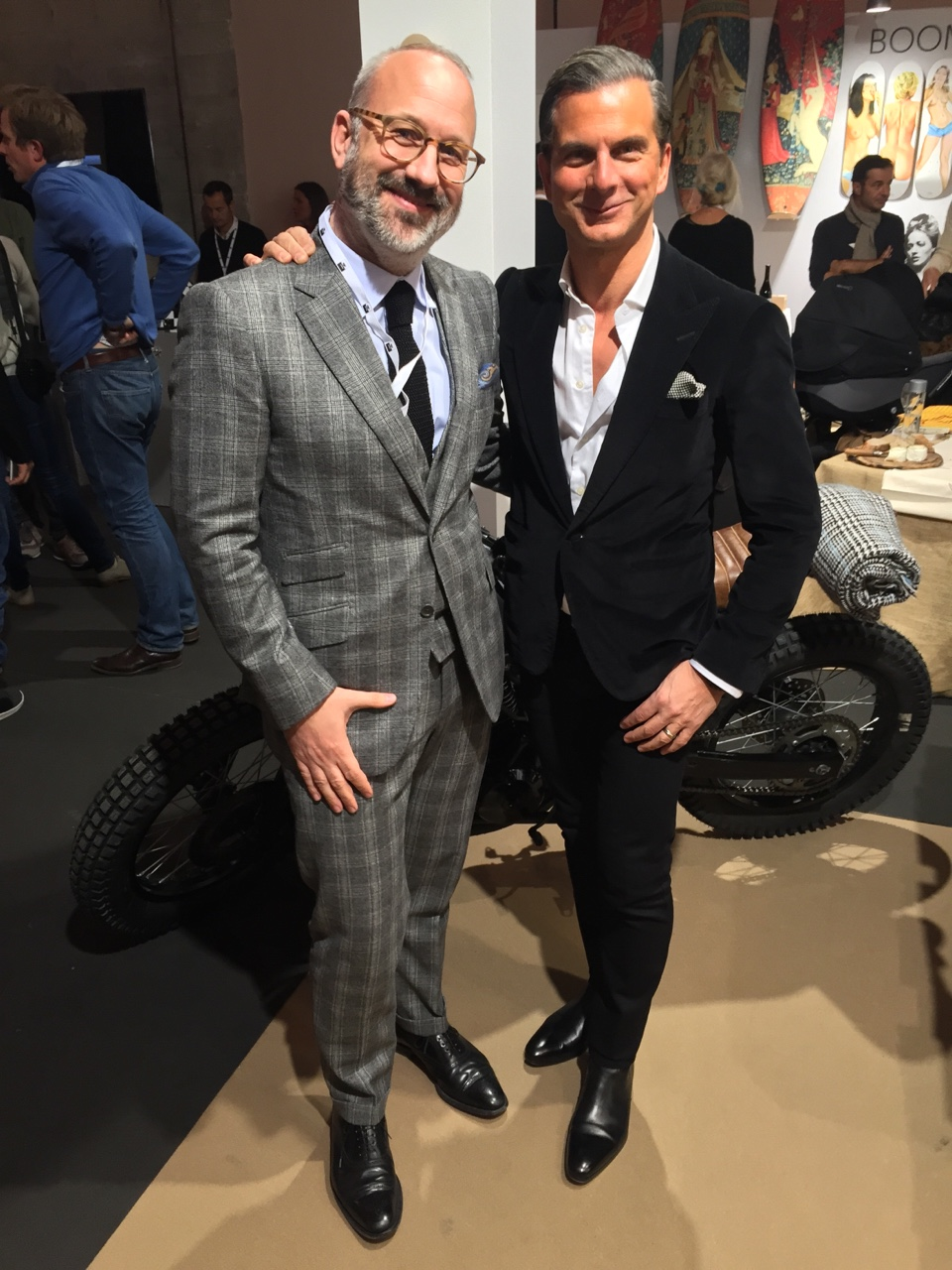 Erwan Camphuis and John Vizzone