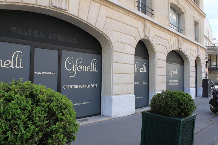 Boutique Cifonelli Paris 2