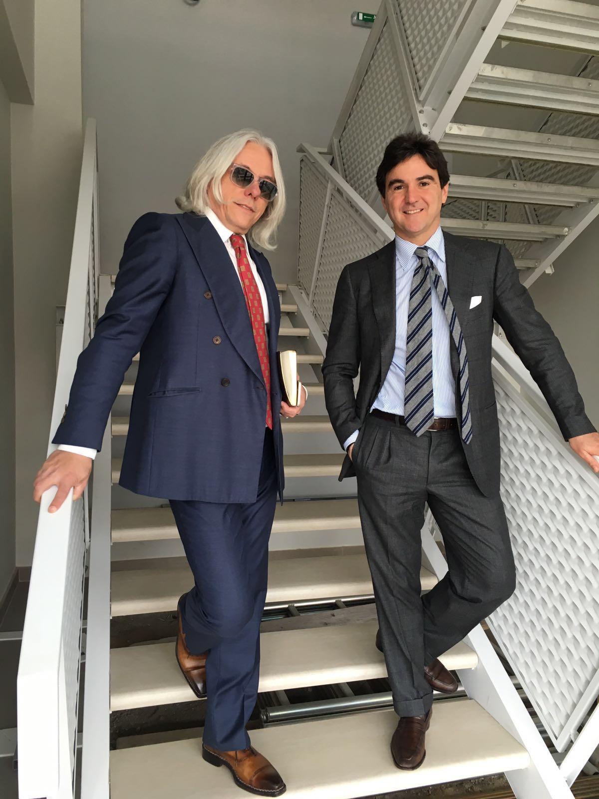 Hugo Jacomet et Giuseppe Attolini