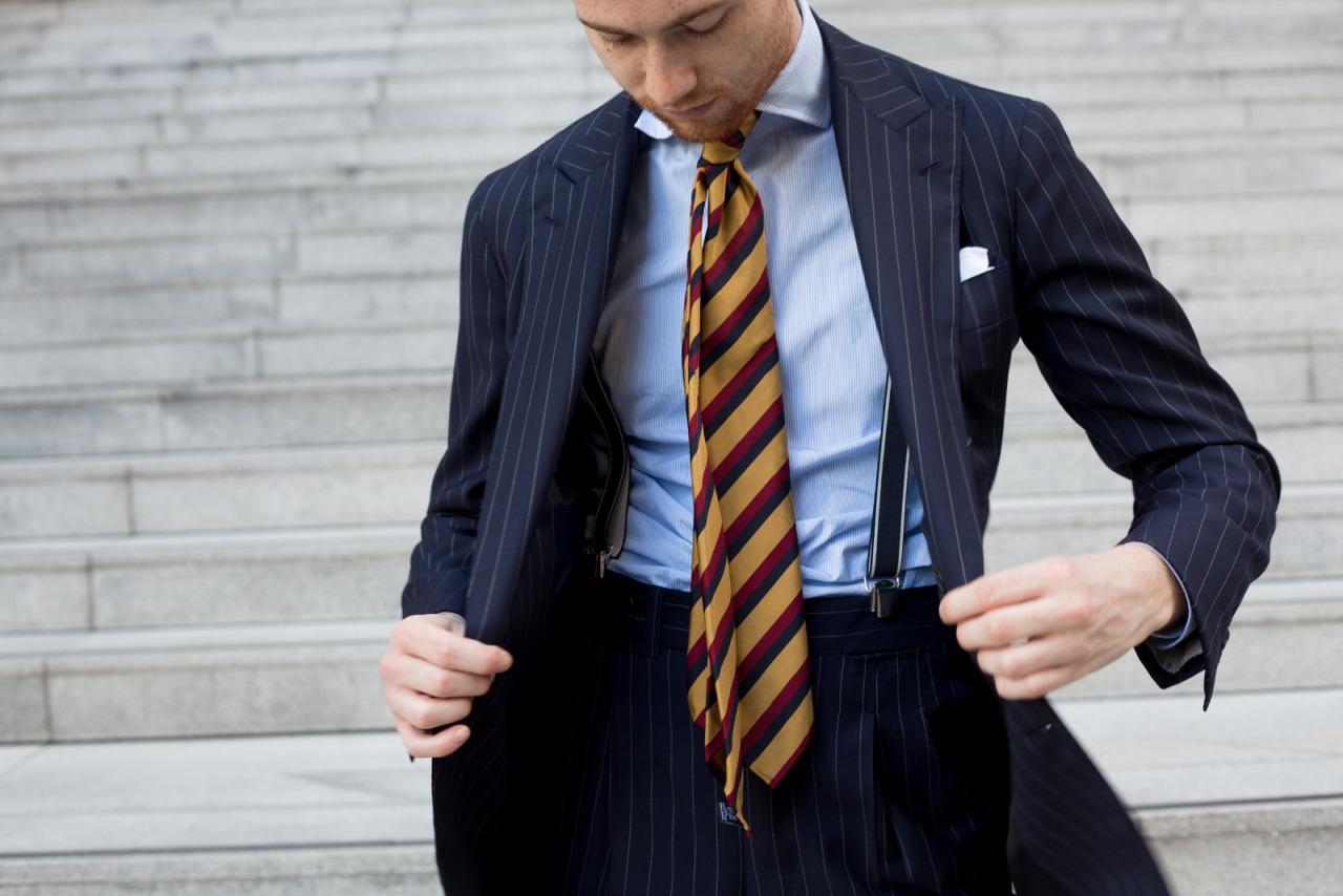 Cravate et nonchalance