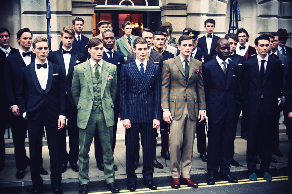 De retour de Savile Row