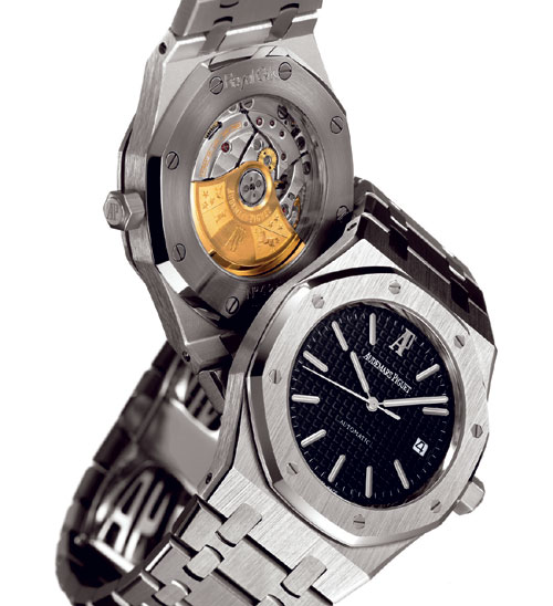 Audemars Piguet Royal Oak & back