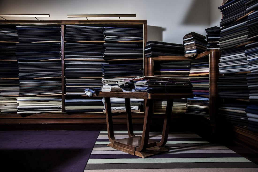 Cifonelli Fabrics Choice