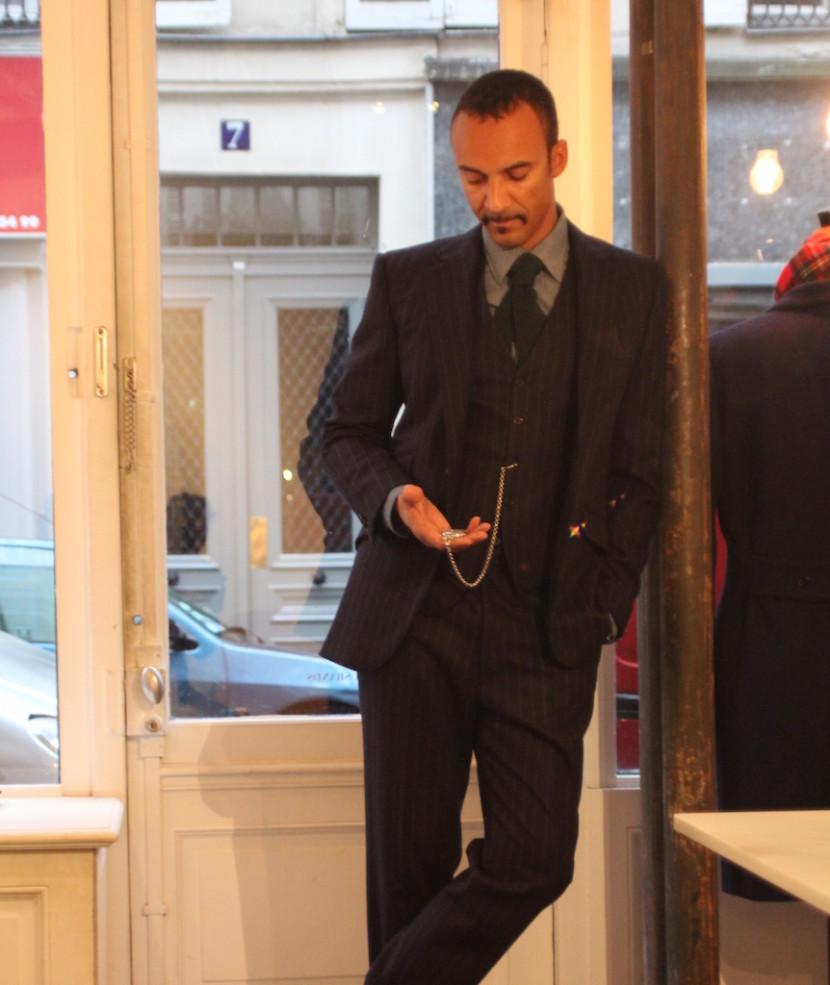 Emmanuel Laurent chez Husbands Paris
